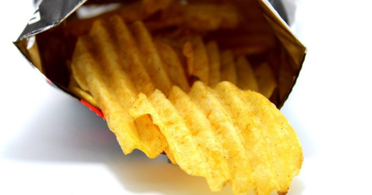 No-patatas fritas low carb de bolsa (el podio)