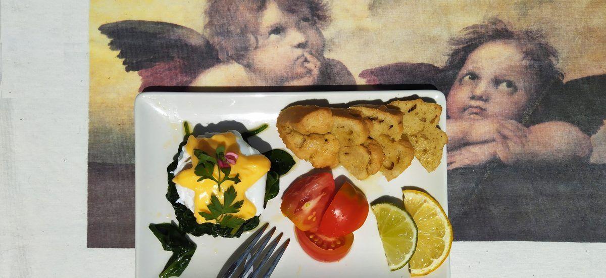 Huevos a la florentina (el Stendhal de los desayunos)