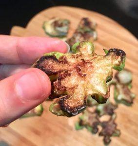 chips de brócoli
