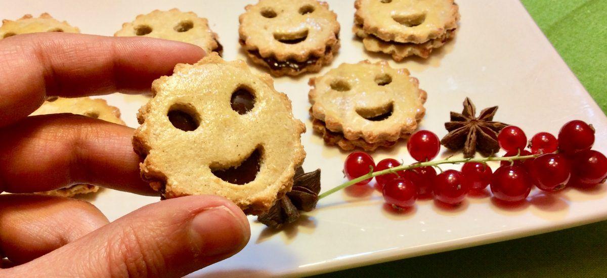 Galletas risueñas de chocolate (o «tan feliz que duele»)