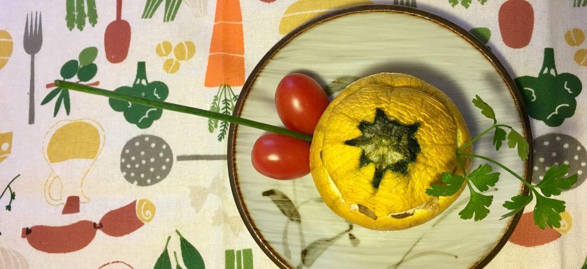 Calabacines rellenos (impúdicos y afrodisíacos)