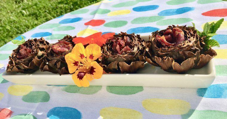 Alcachofas con jamón o «¿Cuál es tu flor favorita?»
