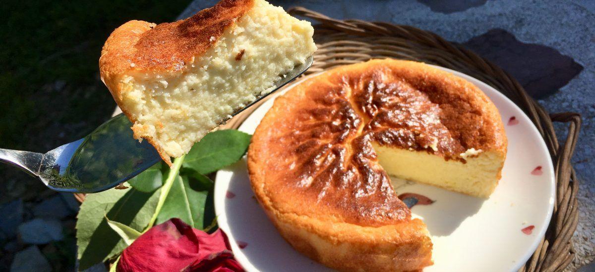 Pastel de queso low carb al horno o «el reencuentro»