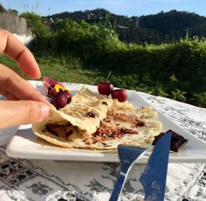crepes low carb con chocolate sin gluten