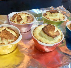 soufflé de queso sin gluten low carb