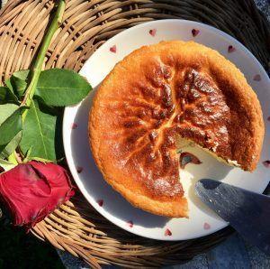 pastel de queso los carb sin gluten