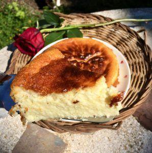 pastel de queso low carb