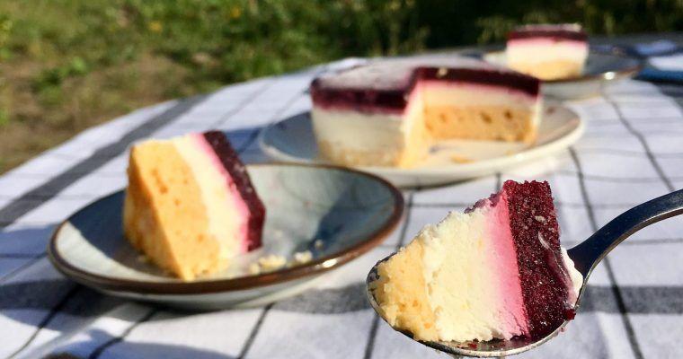 Tarta helada de arándanos o «un golpe bajo y a traición»