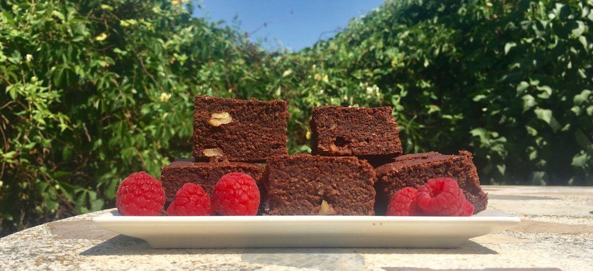Brownie low carb (o «denso suspiro de chocolate»)