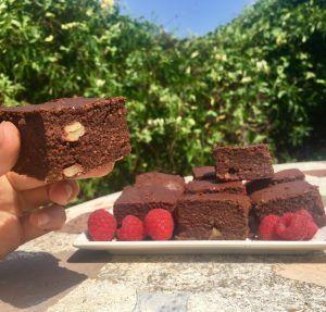 brownie low carb sin gluten