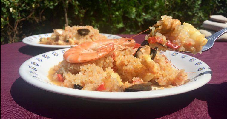 «Keto-paella» de «no-arroz» o «más vale pedir perdón…