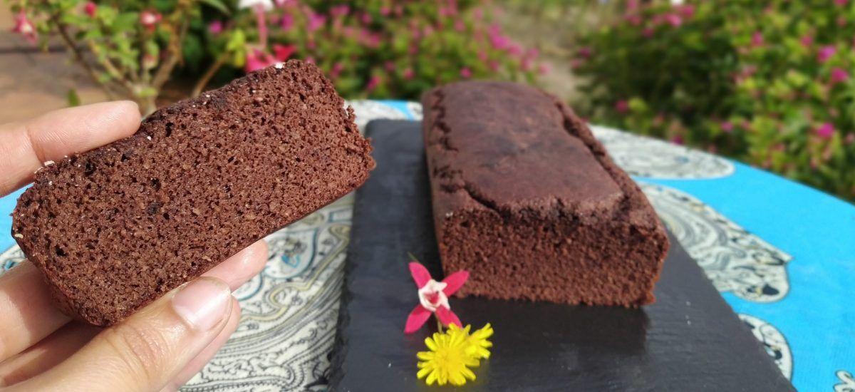 Bizcocho de chocolate low carb (como oro en paño)