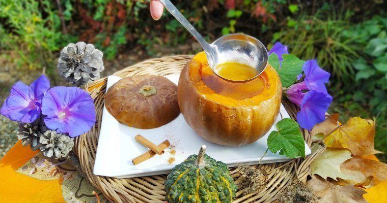 Sopa benzodiacepina (Crema de calabaza con canela)