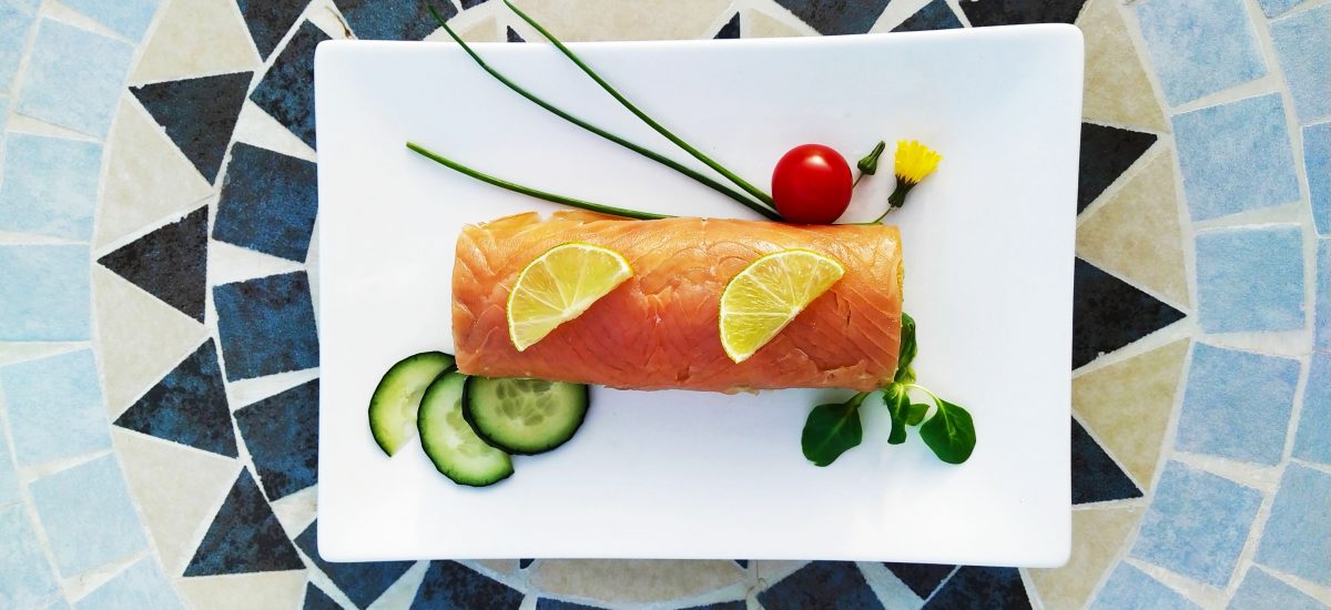 Pastel de salmón, aguacate y pepino o «sí, sí, sí y requetesí»