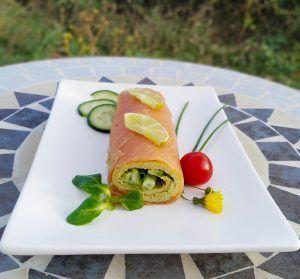 keto pastel de salmón sin gluten low carb