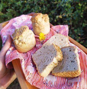 panecito low carb keto paleo de sesamo sin gluten