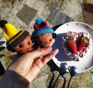 tarta mousse de fresas sin azucar sin gluten keto low carb de san valentin