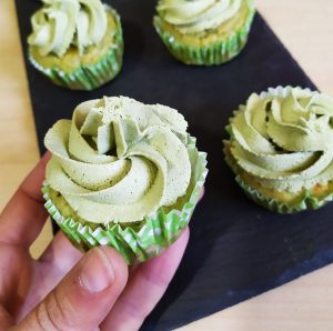 cupcakes te matcha sin gluten sin azucar low carb