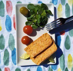 pastel de abadejo sin gluten low carb