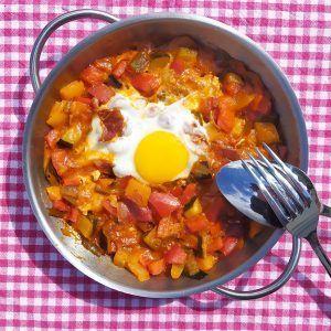 huevos a la flamenca low carb keto paleo
