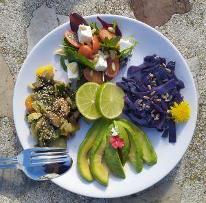 buddha bowl low carb vegetariano