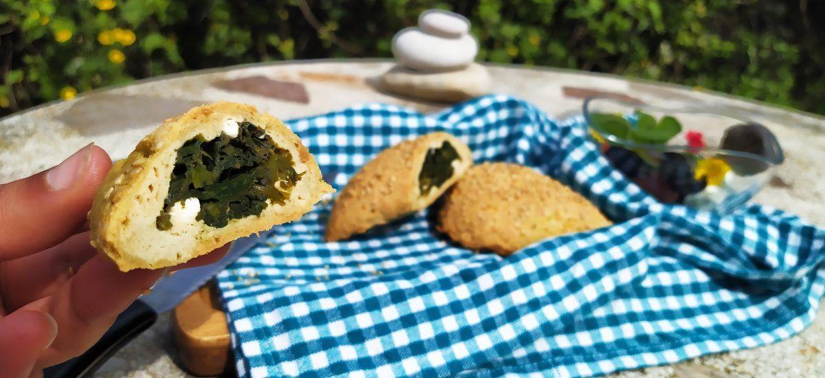 Spanakopita pro-discordia (con queso feta y espinacas)