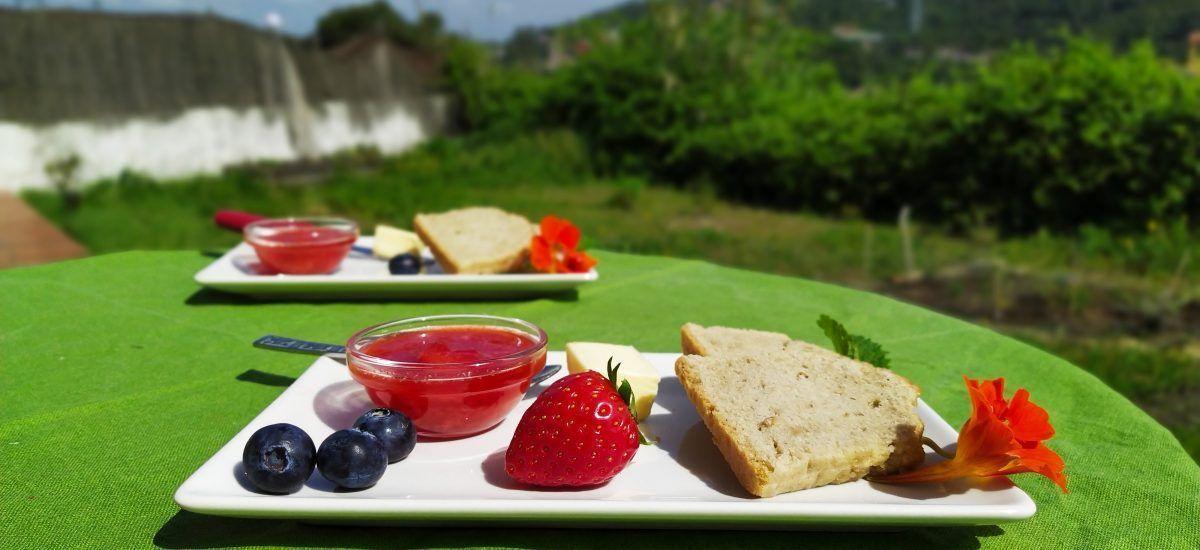 Mermelada low carb «calma-ansias» (de fresas o no)