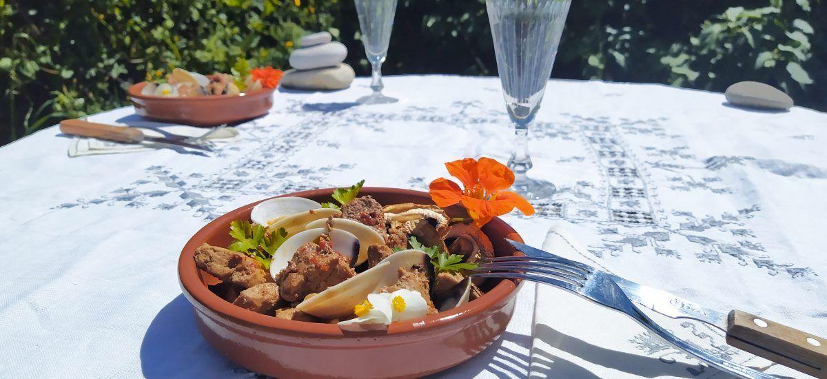 Porco à Alentejana (keto-nostalgia de Portugal)