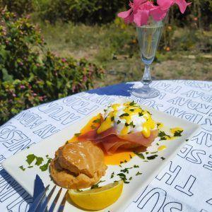 huevos benedict sin gluten paleo low carb keto desayuno