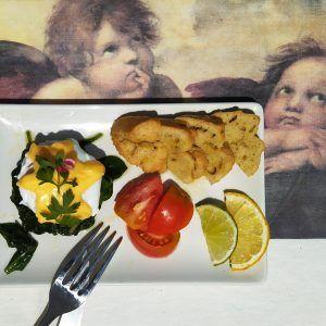 huevos florentinos sin gluten palo low carb keto