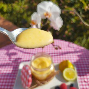 lemon curd low carb crema de limón sin azucar sin lacteos paleo keto