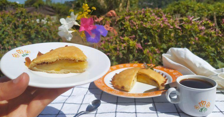 Keto-apple pie (tarta de manzana western-style)
