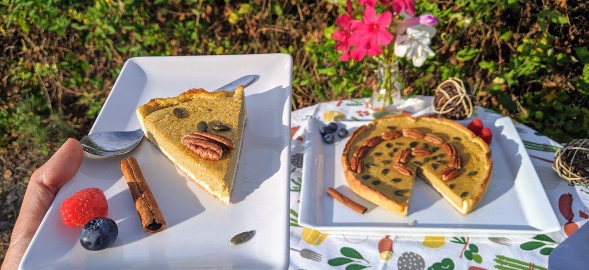 Tarta de calabaza (para «Acción de Gracias»)
