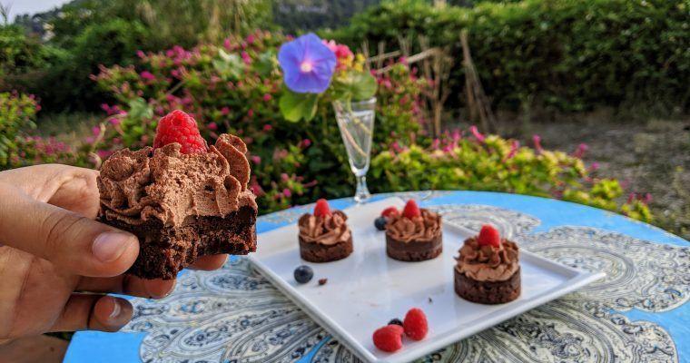 Pastelitos triple chocolate (un subidón de endorfinas)