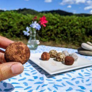 trufas paleo keto low carb sin lacteos sin azucar de aguacate con cacao