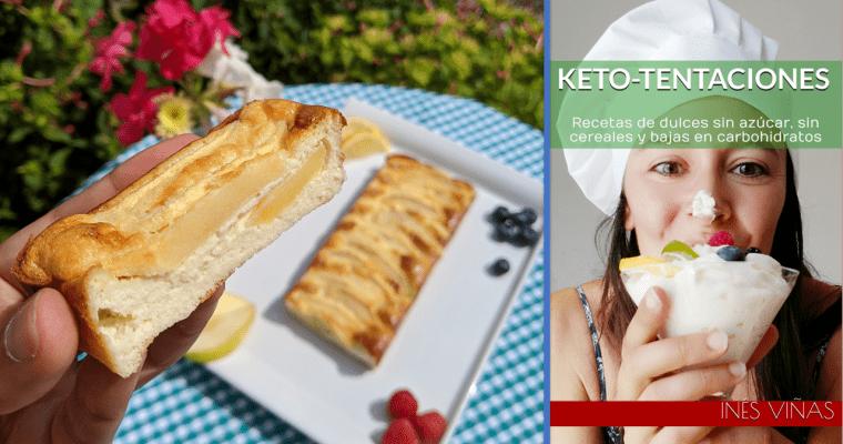 E-book de keto-dulces (y pastel largo de «manzna»)