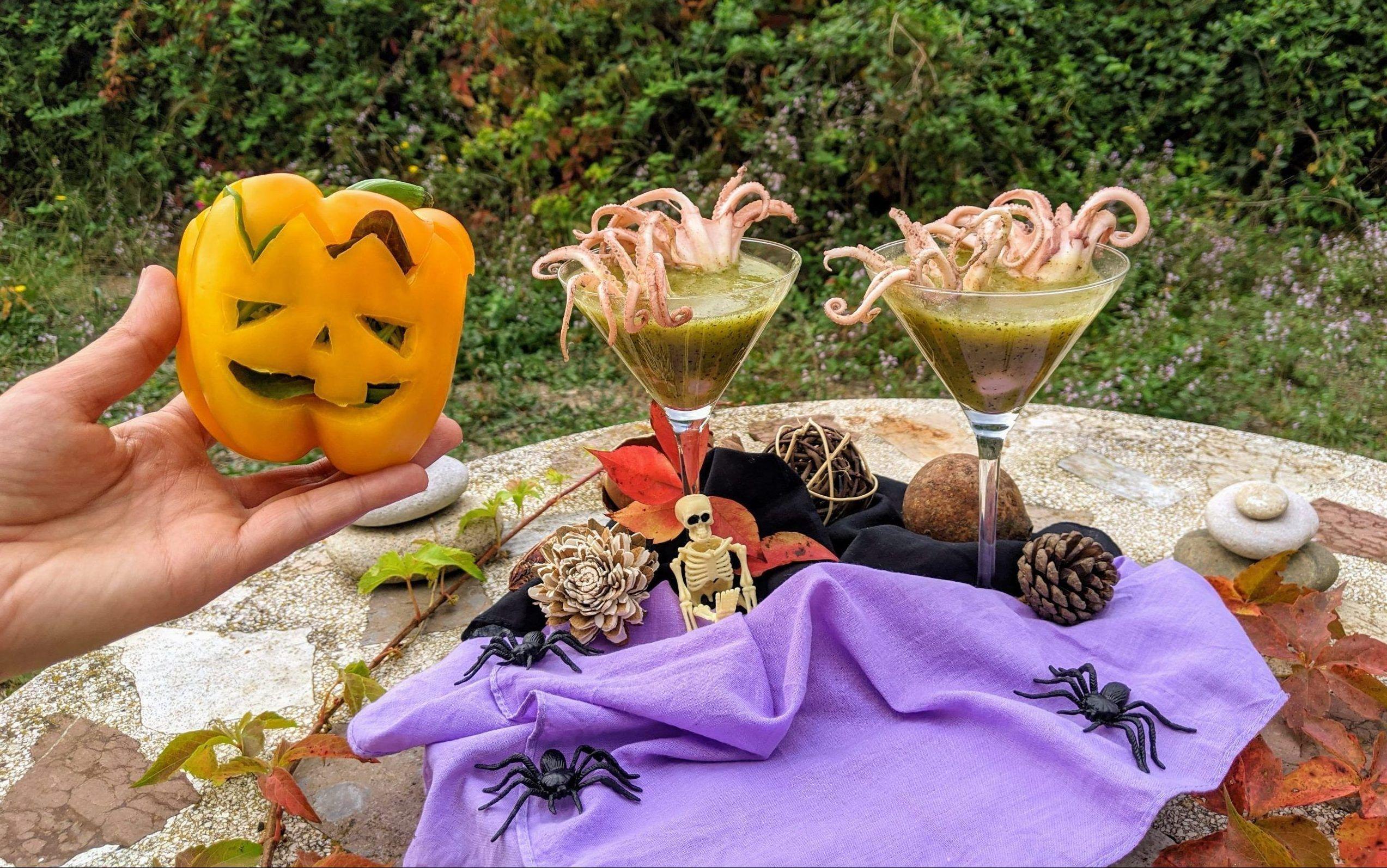 Angusti-pulpitos asfixiados para Halloween