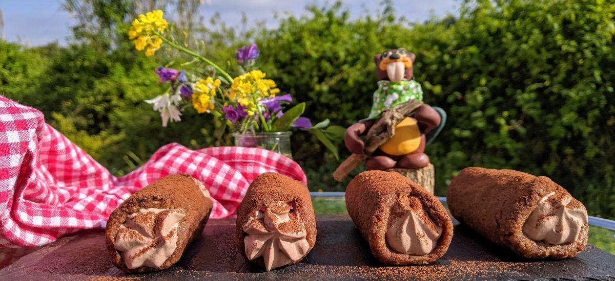 Tronquetes de chocolate (para el castor bailongo)