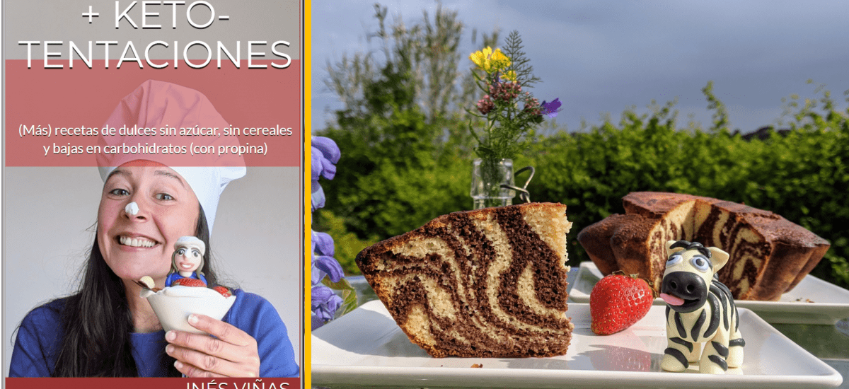 Nuevo e-book de keto-dulces (y bizcocho zebra golosa)